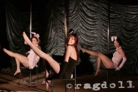 bunnies chair dance easter showcase