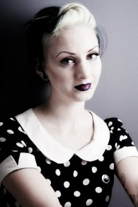 pin-up make up workshop withmake up artist emma maddox
