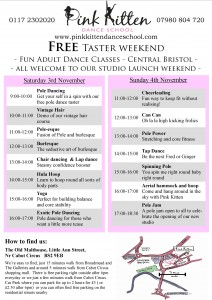 taster day flyer/ poster