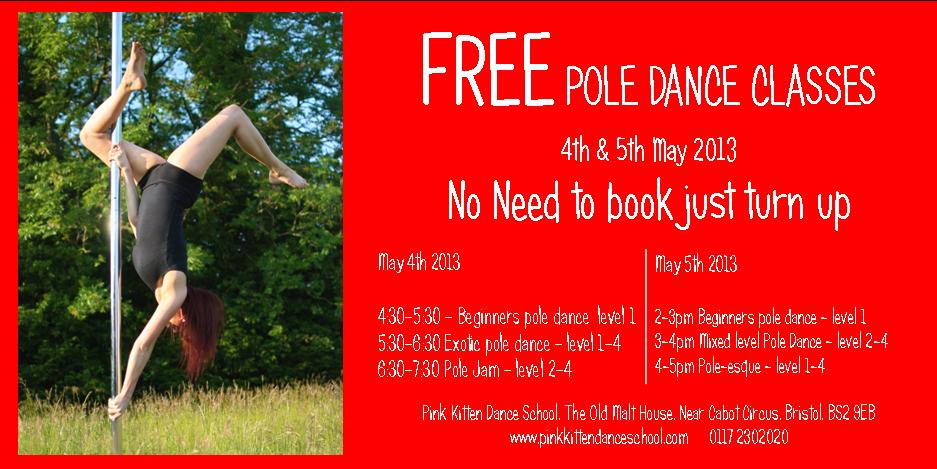 free pole classes