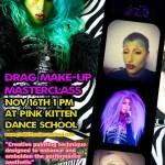 Dis Charge Drag makeup workshop